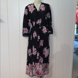 Oscar De La Renta Pink Label floral robe